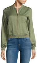 Jessica Simpson Embroidered Bomber Jacket