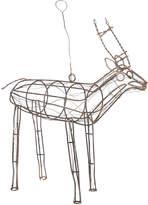 Nkuku Ineko Wire Reindeer - Orange Rust - Large