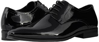 Florsheim Tux Plain Toe Oxford (Black Patent) Men's Plain Toe Shoes