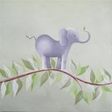 Elephant on a Vine