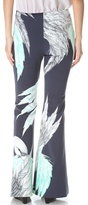 Wes Gordon Swan Flare Pants