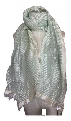 Faliero Sarti Green Silk Scarves