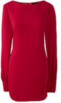 Lands' End Women's Plus Size Long Sleeve Tunic-Rich Sapphire