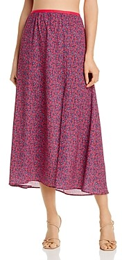 French Connection Verona Floral Midi Skirt - 100% Exclusive