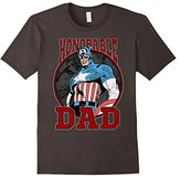 Marvel Captain America Father's Day Honor Graphic T-Shirt