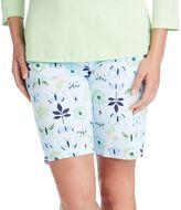 Jockey Women's Pajamas: Butterfly Sleep Bermudas
