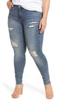 Plus Size Women's Rebel Wilson X Angels The Pin Up Super Skinny Jeans