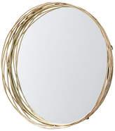Arteriors Rowsell Wall Mirror - Matte Brass