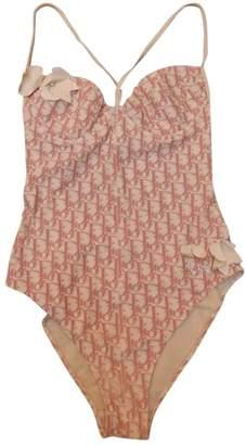 Christian Dior Pink Polyester Swimwear