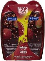 Softsoap Body Wash - Pomegranate & Mango - 18 oz - 2 pk