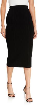 Diane von Furstenberg Heath Stretch Knit Pencil Skirt