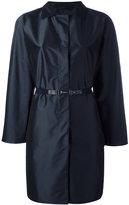 Herno belted coat - women - Polyamide/Polyester/Spandex/Elastane - 44