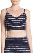 Saks Fifth Avenue RED Women's Striped Bralette Top