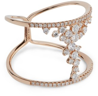 Djula Rose Gold And Diamond Fairy Tale Ring