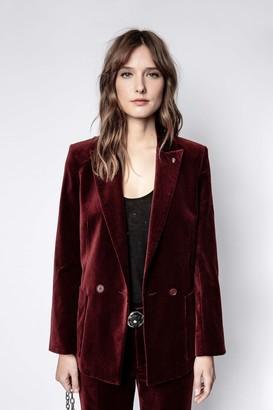 Zadig & Voltaire Visko Velvet Jacket