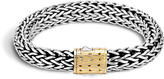 John Hardy Women's Classic Chain 10.5MM Bracelet in Sterling Silver and 18K Gold