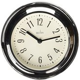Acctim 21737 Riva Wall Clock, Chrome
