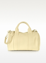 Alexander Wang Rocco Soft Meringue With Pale Gold