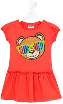 Moschino Kids - Teddy bear dress - kids - Cotton/Spandex/Elastane - 10 yrs