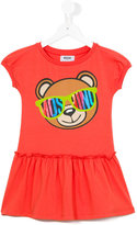 Moschino Kids - Teddy bear dress - kids - Cotton/Spandex/Elastane - 8 yrs