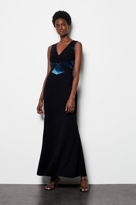 Karen Millen Stella Graphic Maxi Dress