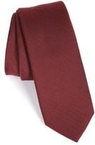 The Tie Bar Men's Solid Wool & Silk Tie