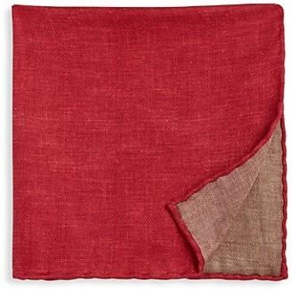 Brunello Cucinelli Quad Silk Pocket Square
