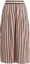 Ace&Jig Jo wide-leg striped cotton culottes
