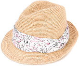 Bellerose Panama hat - women - Paper Yarn - One Size