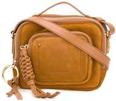 See by Chloe Patti camera crossbody bag - women - Cotton/Suede - One Size