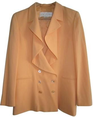 Escada Orange Wool Jacket for Women