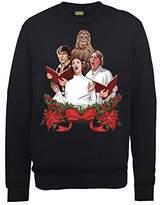Star Wars Men's Chrismas Jedi Carols Sweatshirt