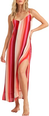 Billabong Wanna Be Around Stripe Maxi Dress