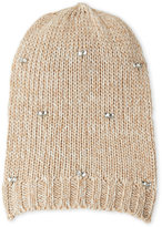 Fraas Knit Jewel Slouchy Hat