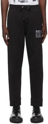 Helmut Lang Black Masc Lounge Pants