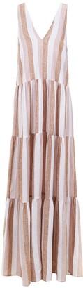 Adriana Degreas striped long dress