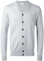 Ballantyne V-neck cardigan - men - Cotton/Cashmere - 48