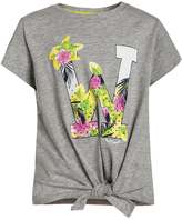 LTB DEPITE Print Tshirt light grey melange