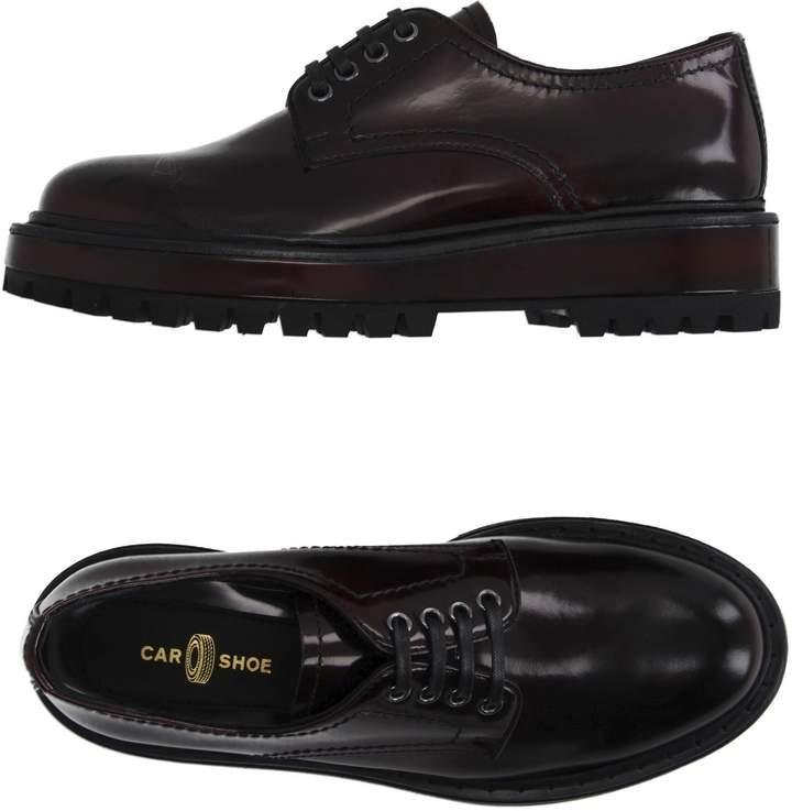 Car Shoe Lace-up shoes - Item 11008675IA