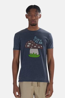 Kinetix x Blue&Cream Mushroom Tee