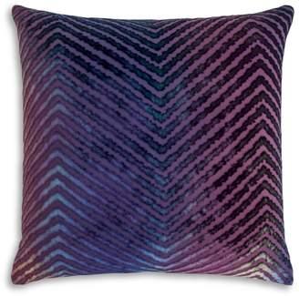 """Chevron Velvet Decorative Pillow, 20"""" x 20"""""""