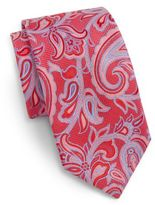 Saks Fifth Avenue Paisley Silk Tie