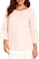Wallis Women's Happy Days Flute Sleeve Blouse