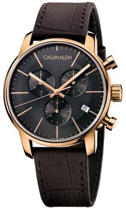 Calvin Klein City Chronograph Grey Watch