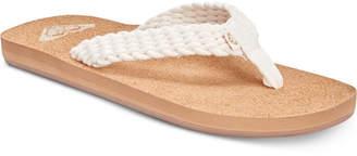 Roxy Porto Ii Flip-Flops Women Shoes
