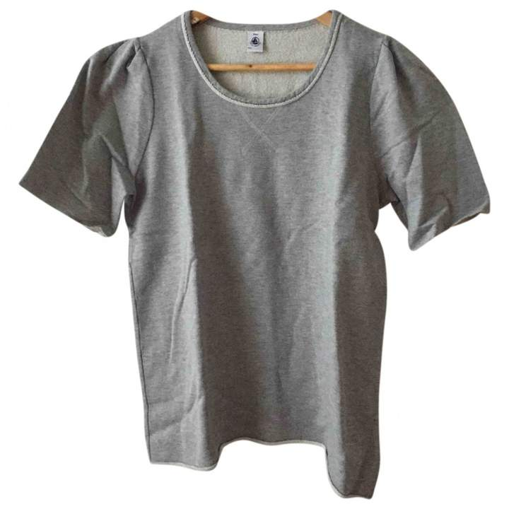 Petit Bateau Grey Cotton Top for Women