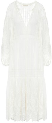 Ulla Johnson Bettina cotton midi dress