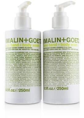 Malin+Goetz NEW Rum + Lime Wash Set 250ml/8.5x2 Perfume