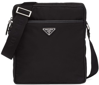 Prada Leather Messenger Bag