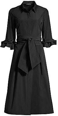 Lafayette 148 New York Women's Hughes Fit & Flare Dress